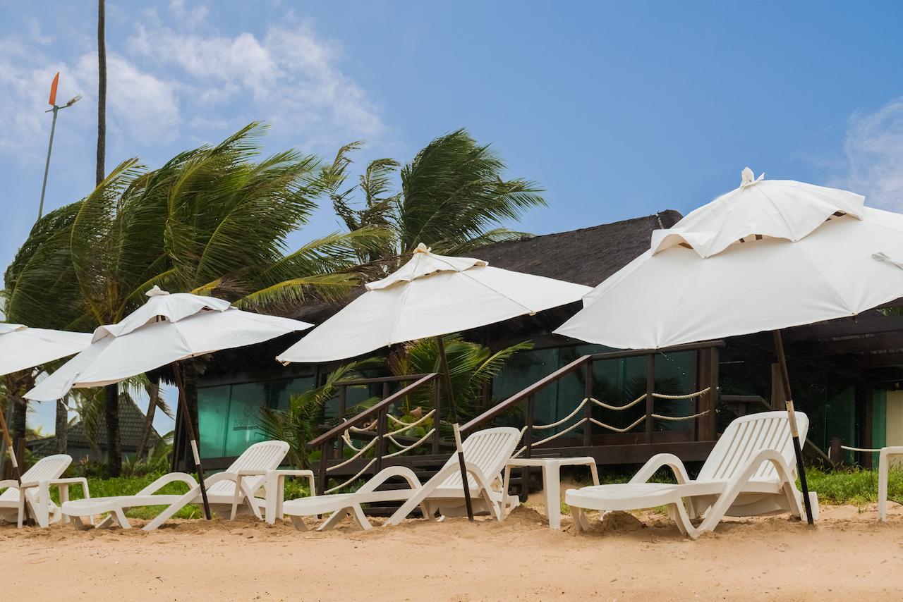 Resort pé na areia