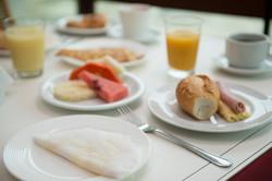 Café da manhã com tapioca