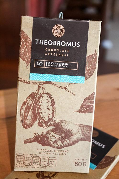 Chocolate Obscuro con Leche de Coco   Theobromus