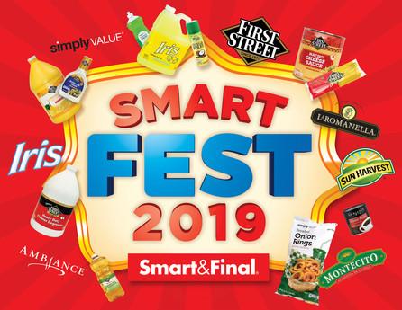 "Imagen de campaña ""Smart Fest"" / Smart&Final"