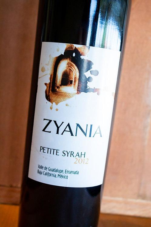 Petite Syrah | 2012 | Zyania