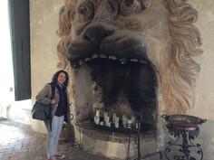 En el Palazzo Della Torre de Allegrini