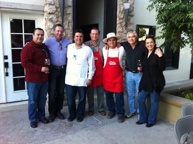 Carne asada con Mario Montaño