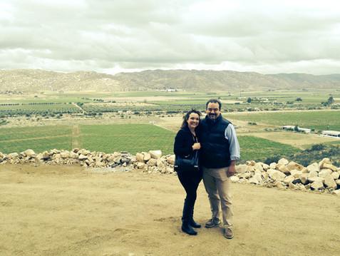 La mejor vista del Valle de Guadalupe