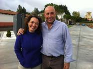 Con Carmelo Rodero en Ribera del Duero en 2012