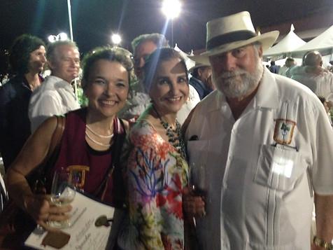 Con Antonio y Gloria Escalante