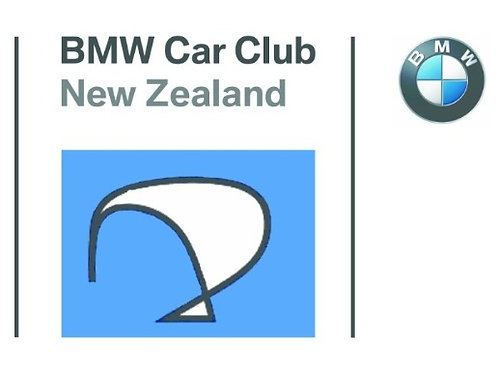 BMWCCNZ Car Stickers x 2