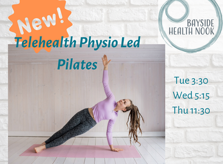NEW: BHN Online Pilates Classes