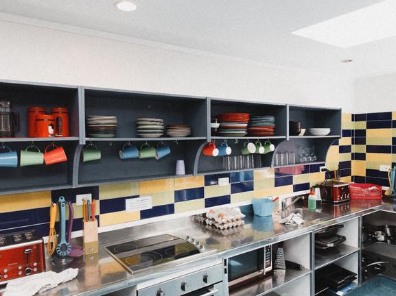 Kitchen at Saltwater Lodge