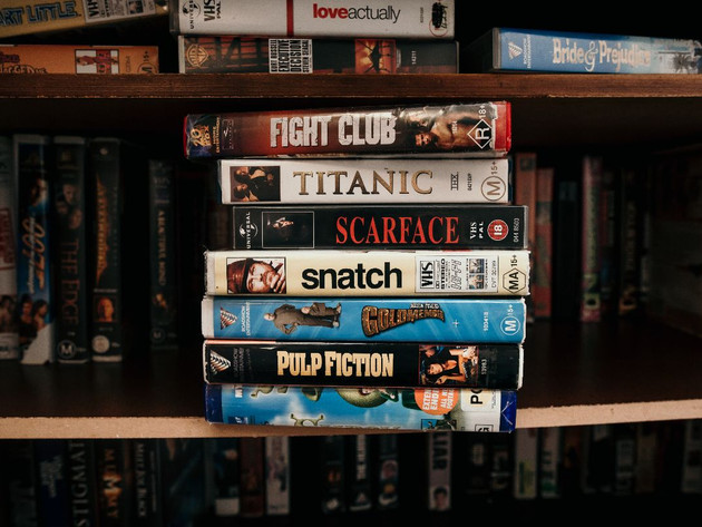 Retro VCR collection