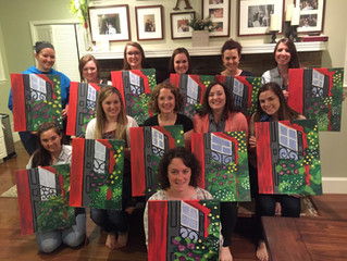 Nicole's Painting Party