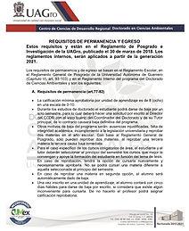 REQUISITOS DE PERMANENCIA Y EGRESO - 202