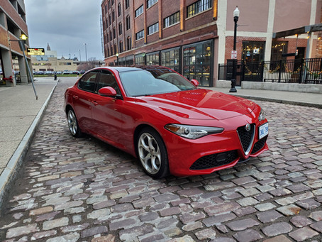 2019 Alfa Romeo Giulia TI Sport (Français)