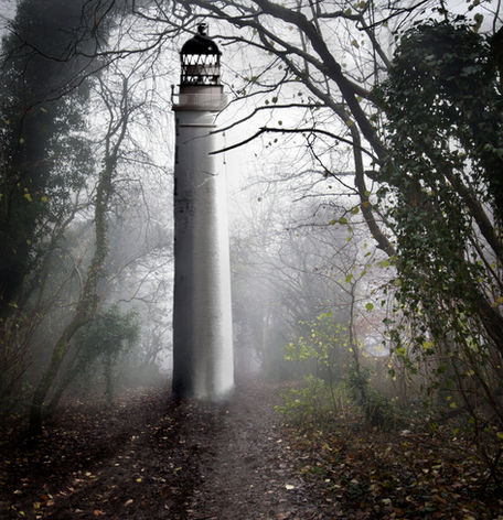 Lighthouse in Wood