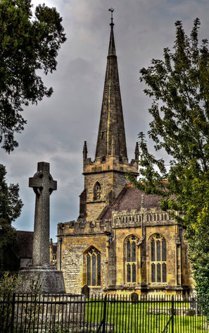 Evesham Abbey, Worcestershire