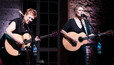 Chris While & Julie Matthews