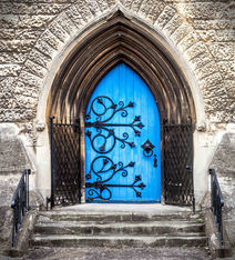 St Luke's Church Door