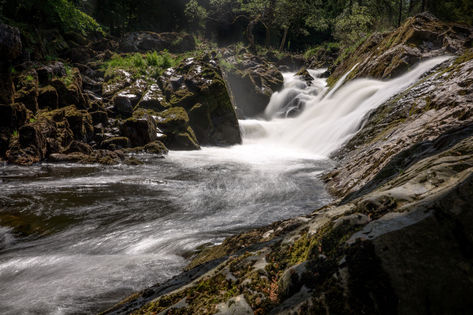 Falls of Feugh, Banchory, Scotland