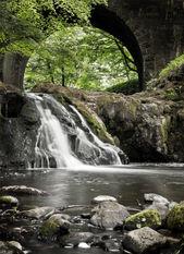 Arbirlot Waterfall at Arbroath