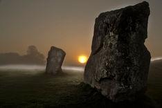 Avebury standing stones, Wiltshire