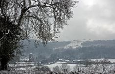 Malvern in the Winter, Gloucestershire