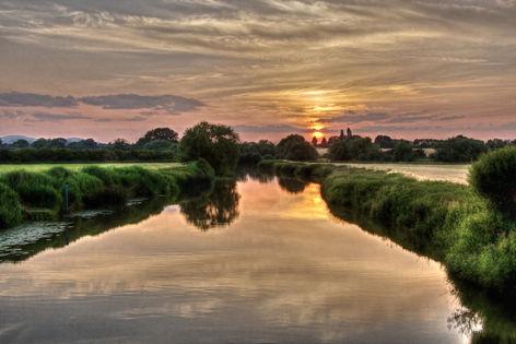 River Severn at Eckington, Glos.
