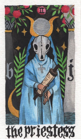 ii. The Priestess
