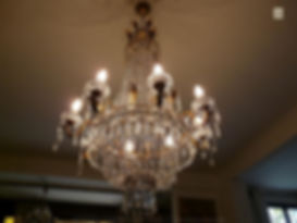 Lustre montgolfière en cristal swarovski