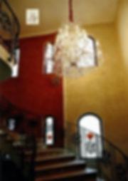paire d'appliques murales en cristal