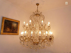 grand lustre en cristal baccarat