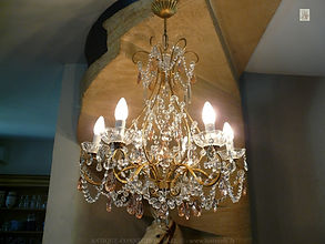 magasin de luminaires en cristal de bohême