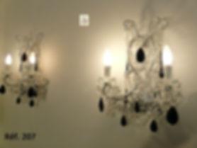 pendeloques en cristal