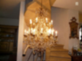 lustre de château
