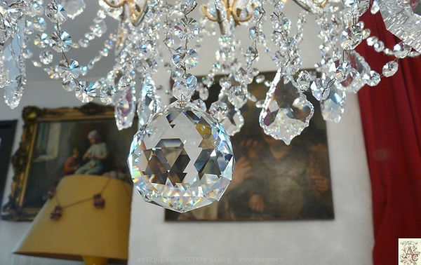 boule cristal à facette