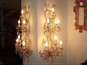 appliques en bronze et cristal