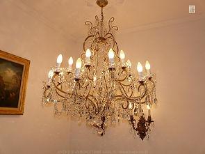 lustre en cristal swarovski
