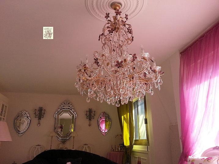 lustre à LED