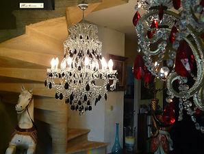 boutique de lustres en cristal