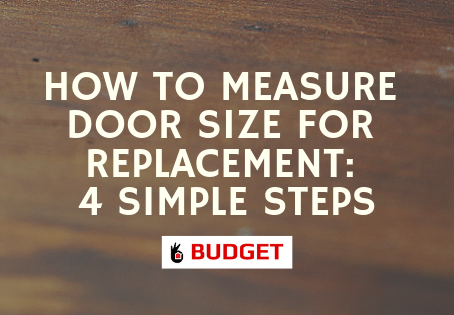 How to Measure Door Size for Replacement: 4 Simple Steps