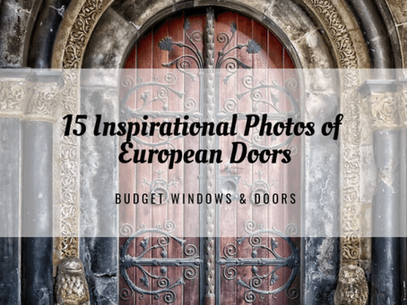 15 Inspirational Photos of European Doors