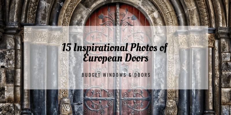 15 Inspirational Photos of European Doors