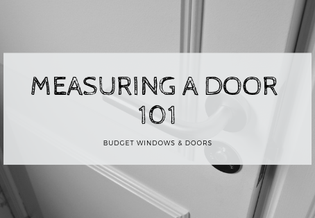 Measuring a Door 101