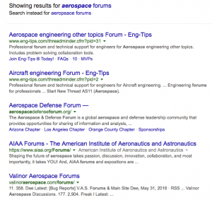 BLOG-aerospace forums