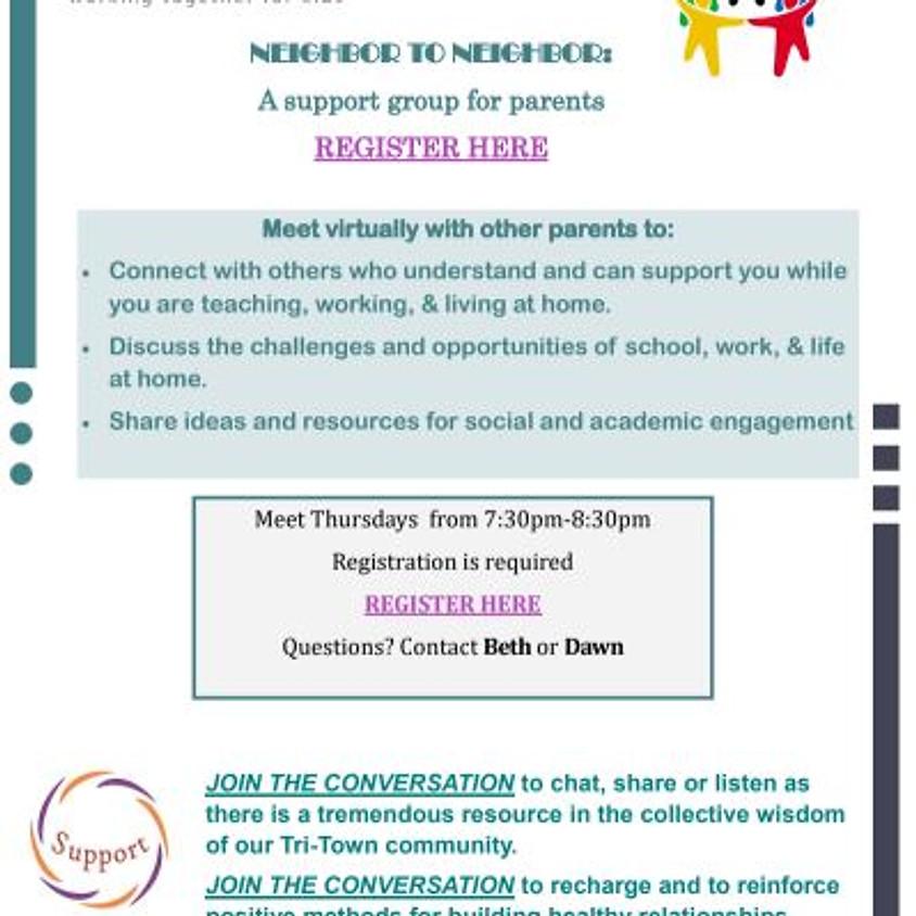 Neighbor to Neighbor Parent/Caregiver Group