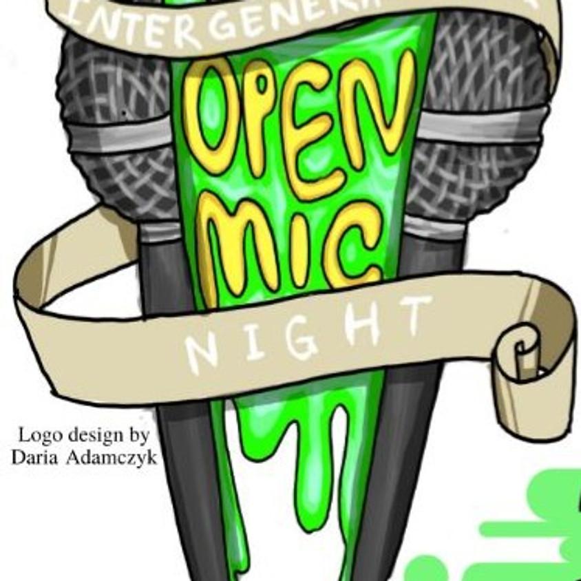 Intergenerational Open Mic Night!
