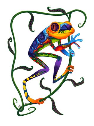 Oaxacan Tree Frog