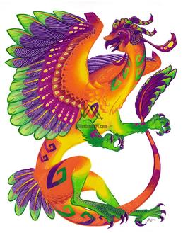 Oaxacan Barn Owl Dragon