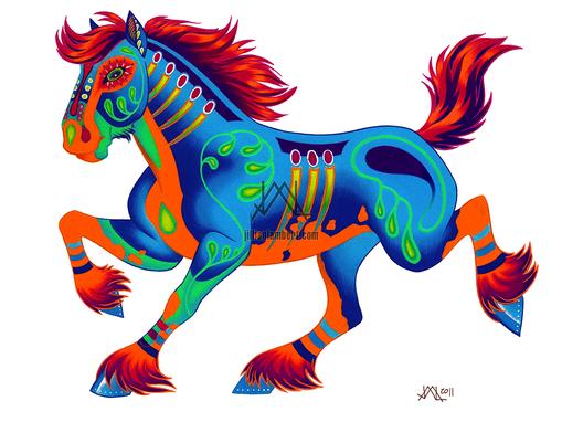 Oaxacan Horse