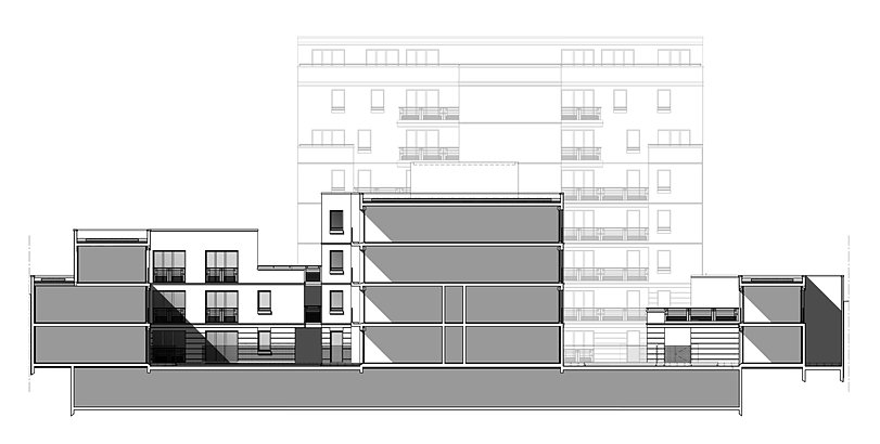 jp mallet archi saint ouen cosy garden. Black Bedroom Furniture Sets. Home Design Ideas