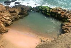 Piscina en el mar